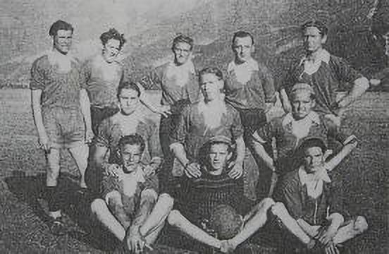 Die erste Mannschaft des SVD's.